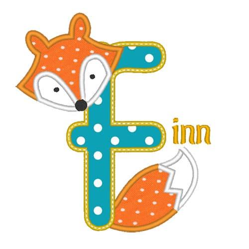 Fuchs Buchstaben A-Z