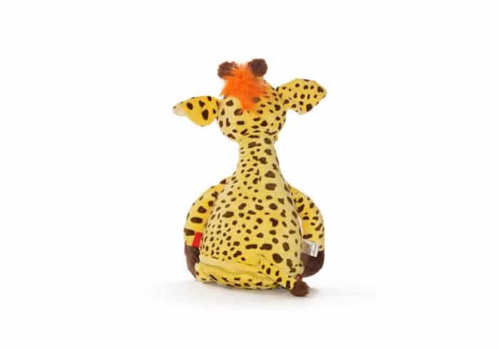 Giraffe Kuscheltier, Rückansicht