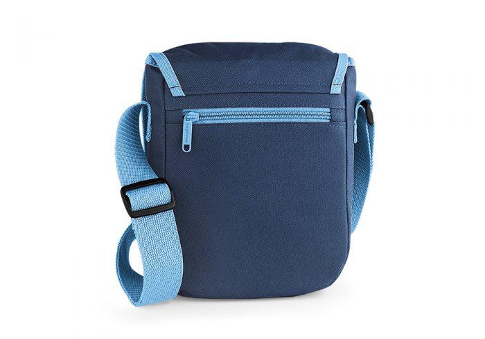 Kindergartentasche blau, Rückseite