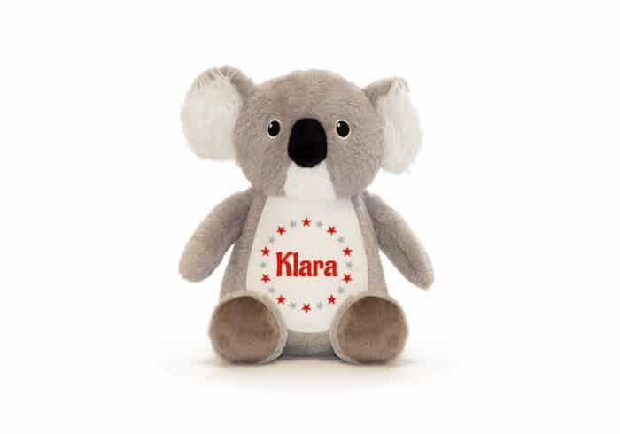 Koala Kuscheltier bestickt