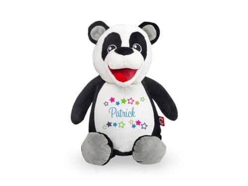 Panda Kuscheltier, bestickt