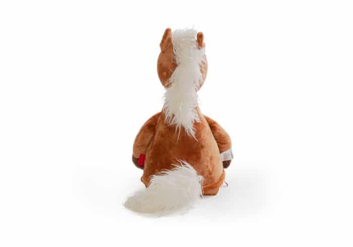 Pferd Kuscheltier Rückseite