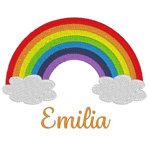 Regenbogen mit Name
