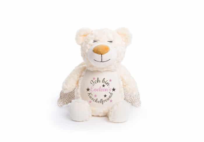 Schutzengel-Bär, bestickt