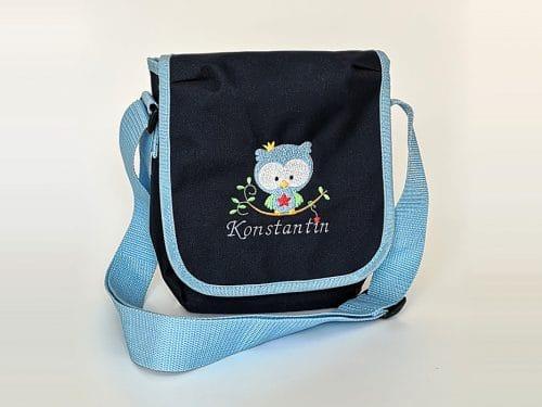 Tasche, blau