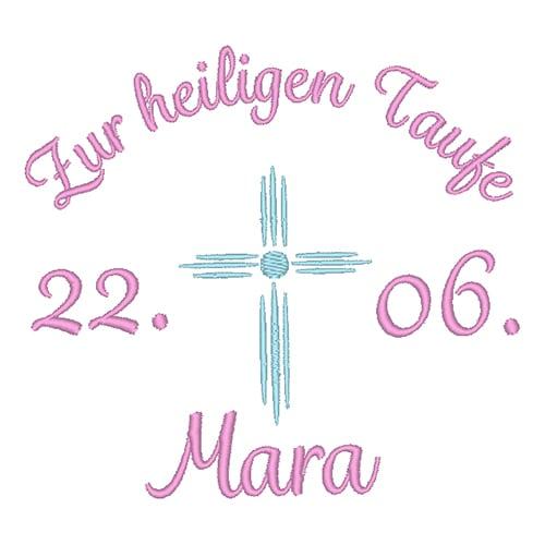 Taufe mit Datum